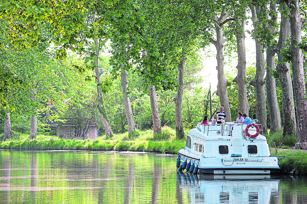 The Canal du Midi is one of Le Boat's 39 bases around Europe. PHOTO: LE BOAT