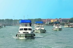 New this year is travelling by flotilla into the Venetian lagoon and holidays for single travellers. PHOTO: LE BOAT
