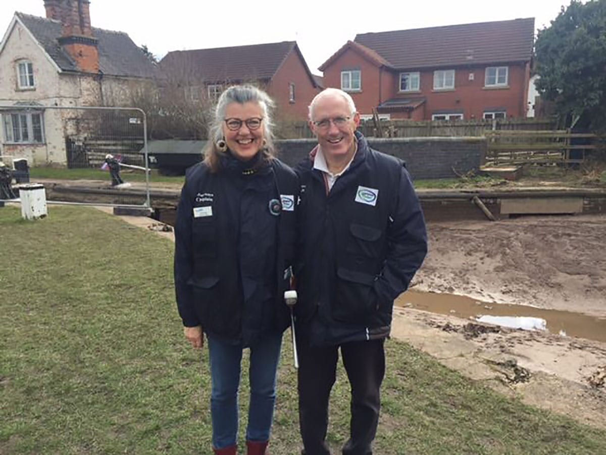 Waterways Chaplaincy – Martin and Fiona Buck