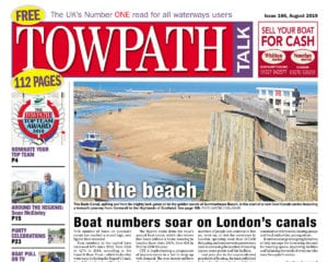 Towpath Talk August cover