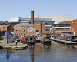 Gas Street Basin at Birmingham