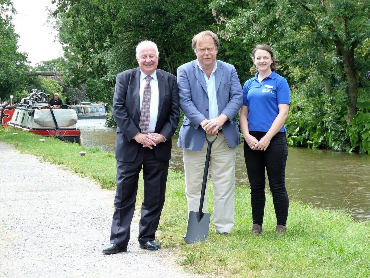 Skipton Towpath Improvements Begin - low res