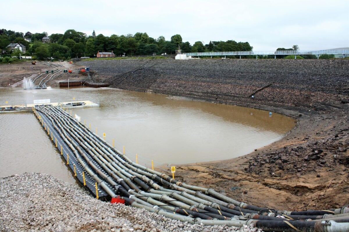 Toddbrook reservoir drained LR
