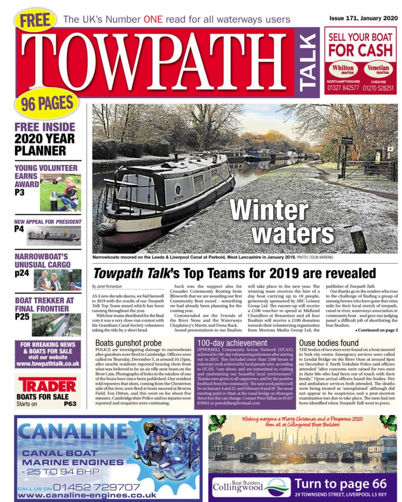 Towpath Talk January cover