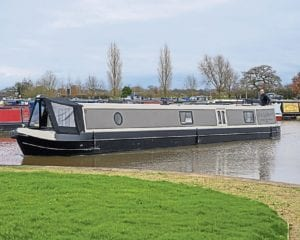 The hideout, the latest boat from Knight's Narrowboats.