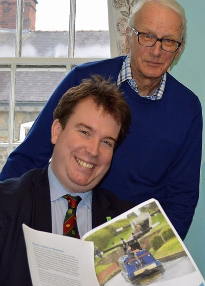 Craig Williams and Michael Limbrey