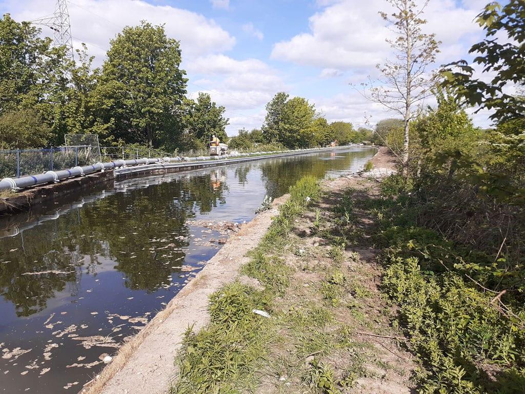 Lancaster canal repairs