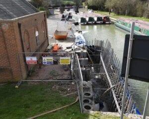 Caen Hill pumping station