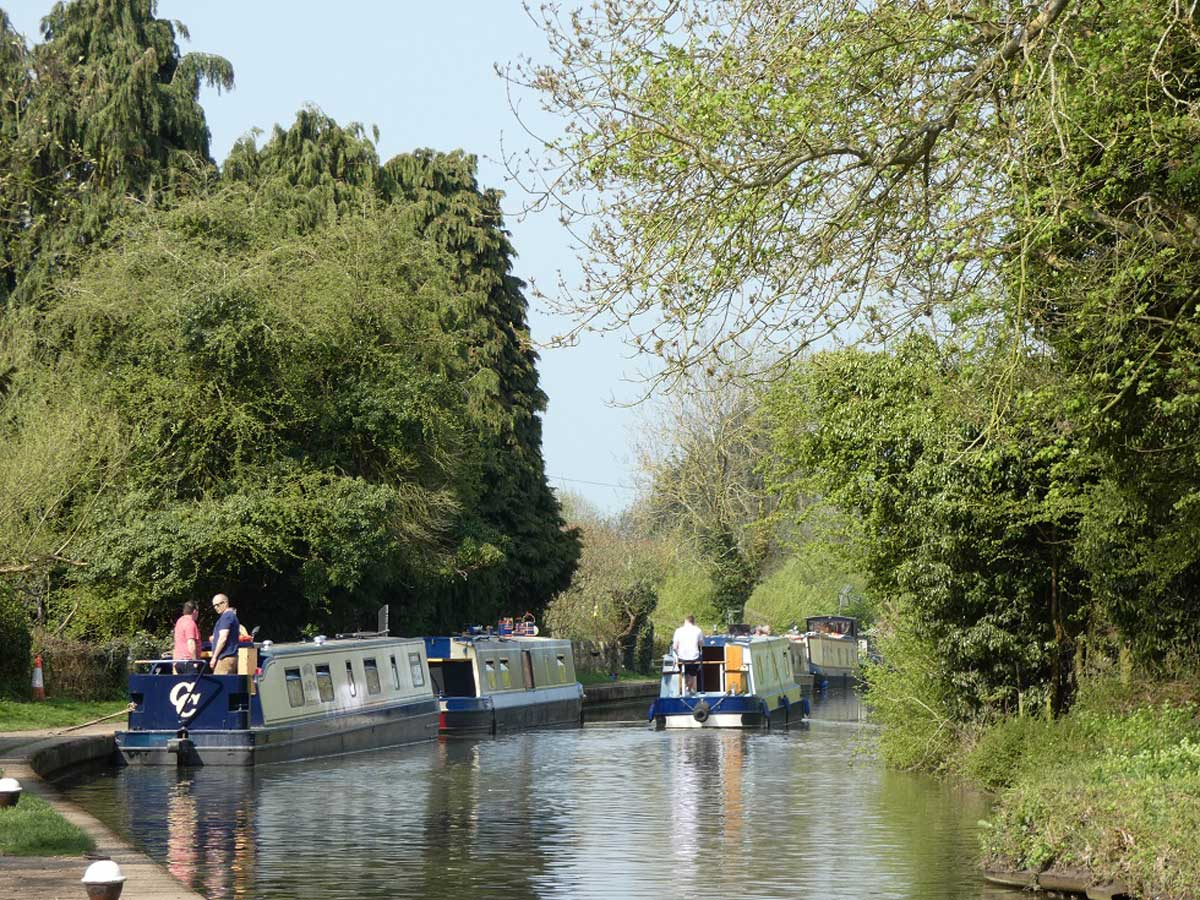 Grand Union Canal in Braunton