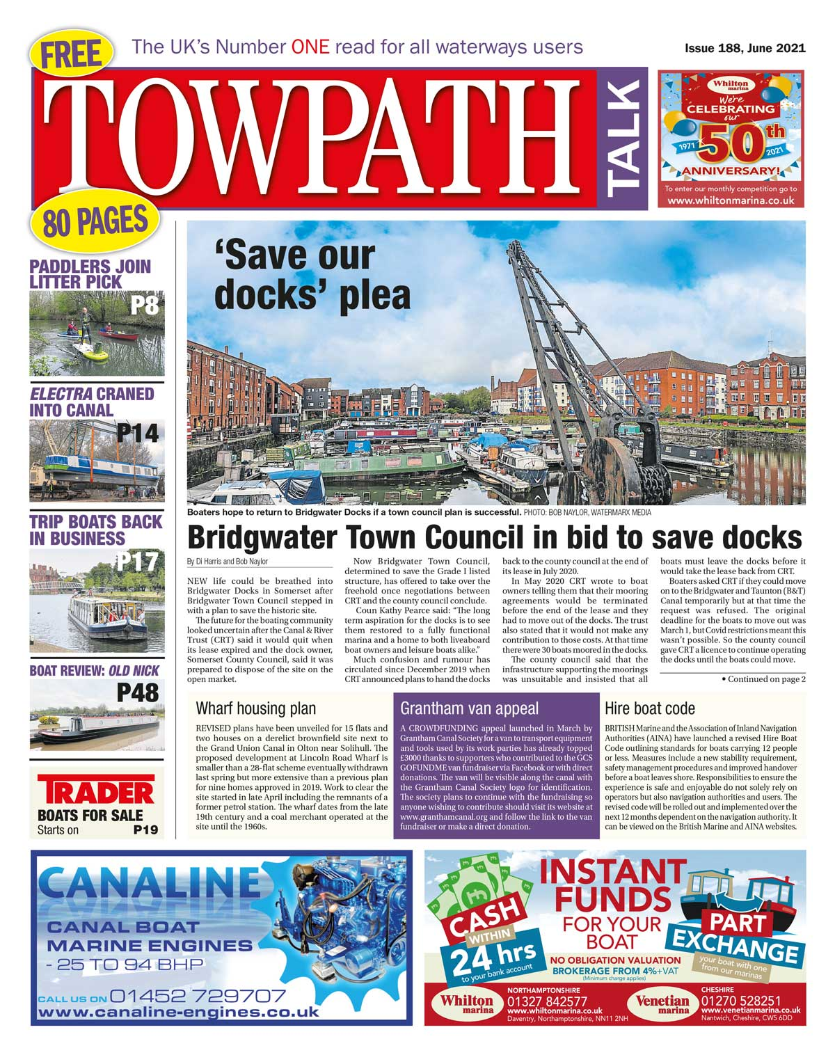Towpath Talk June cover