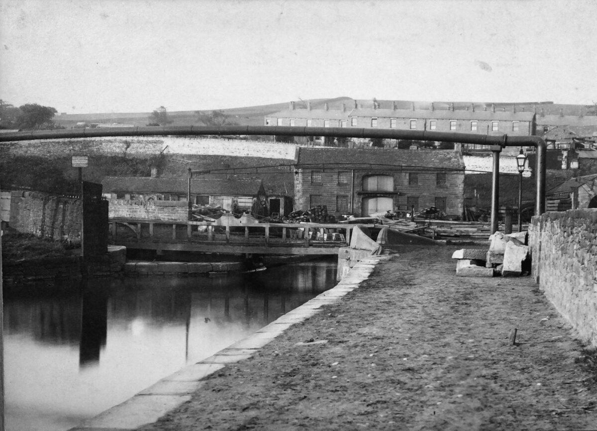 Burnley Canal Wharf restoration