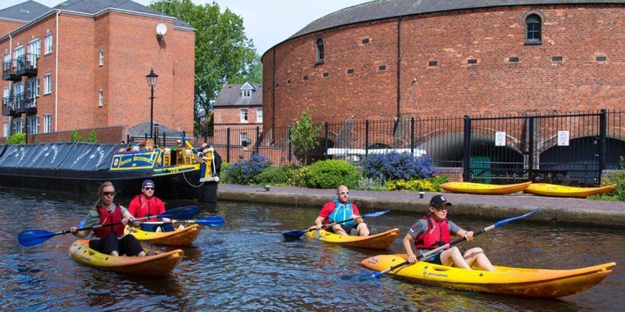 Kayaking in Birmingham