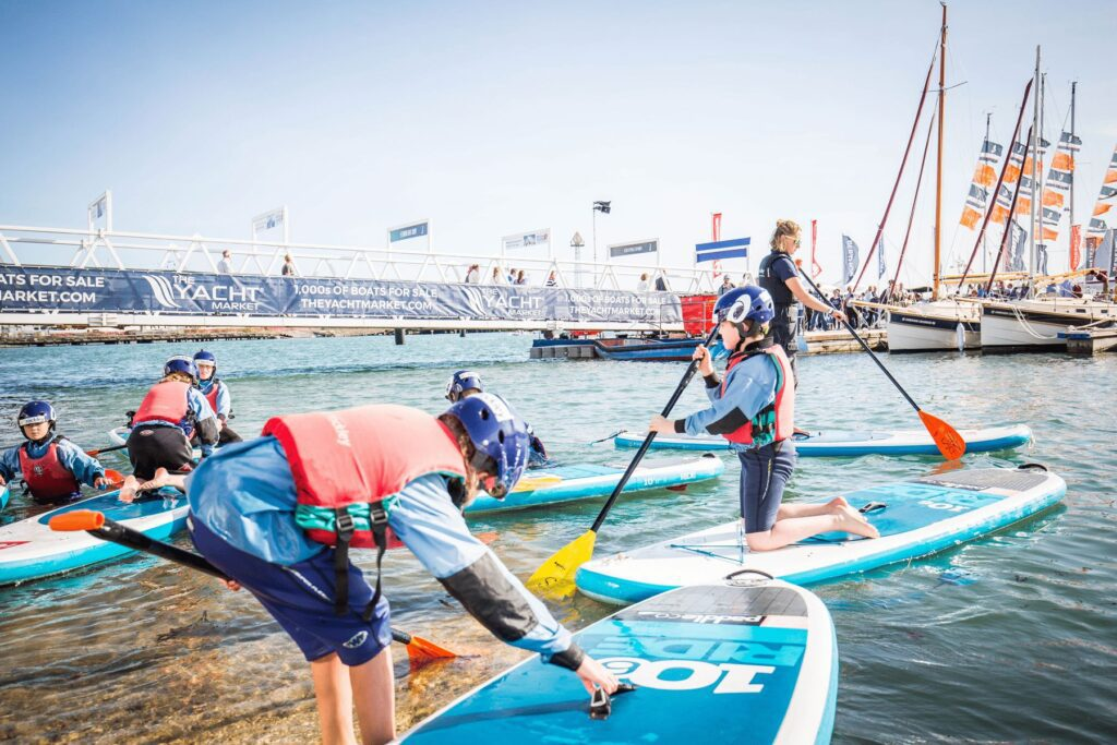 Southampton Boat Show on-the-water-activities