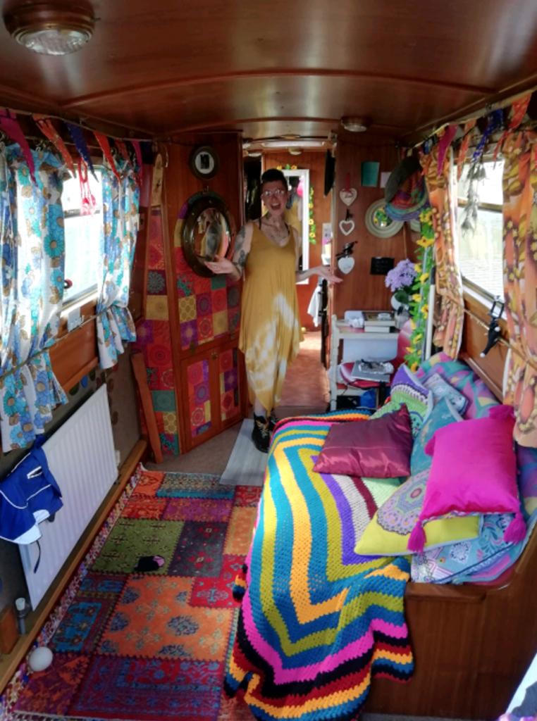 The Ruff's colourful interior