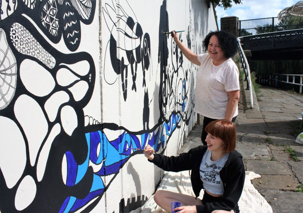 Sefton Mural painting artists