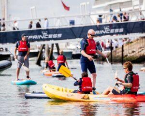 Watersports zone, Southampton Boat Show 2021